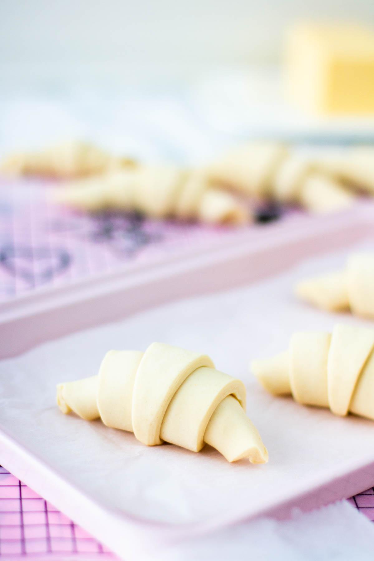 Rullatut croissantlrivonnaiset
