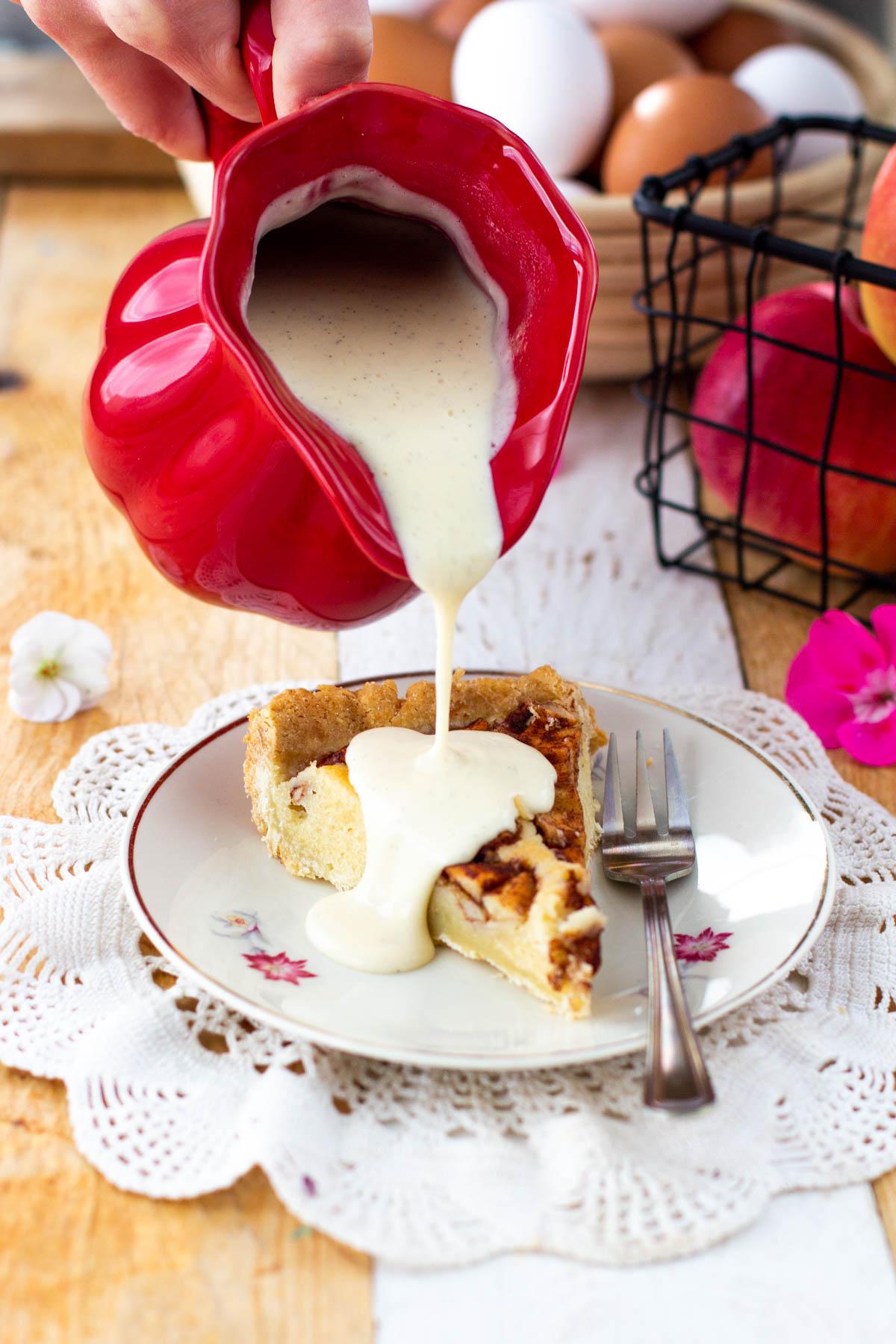 Vaniljakastikkeen resepti